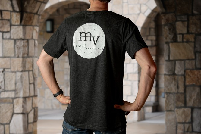 Mari Men's Black Tee