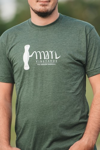 Green Corkscrew Tee - Mens