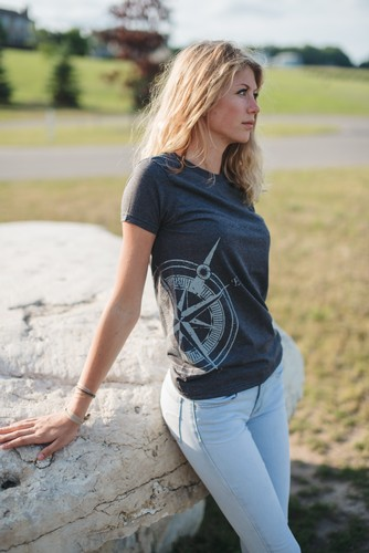 Compass Rose Tee - Womens